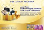 s26 loyalty program hadiah