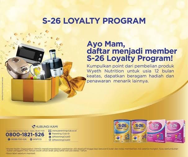 s26 loyalty program hadiah